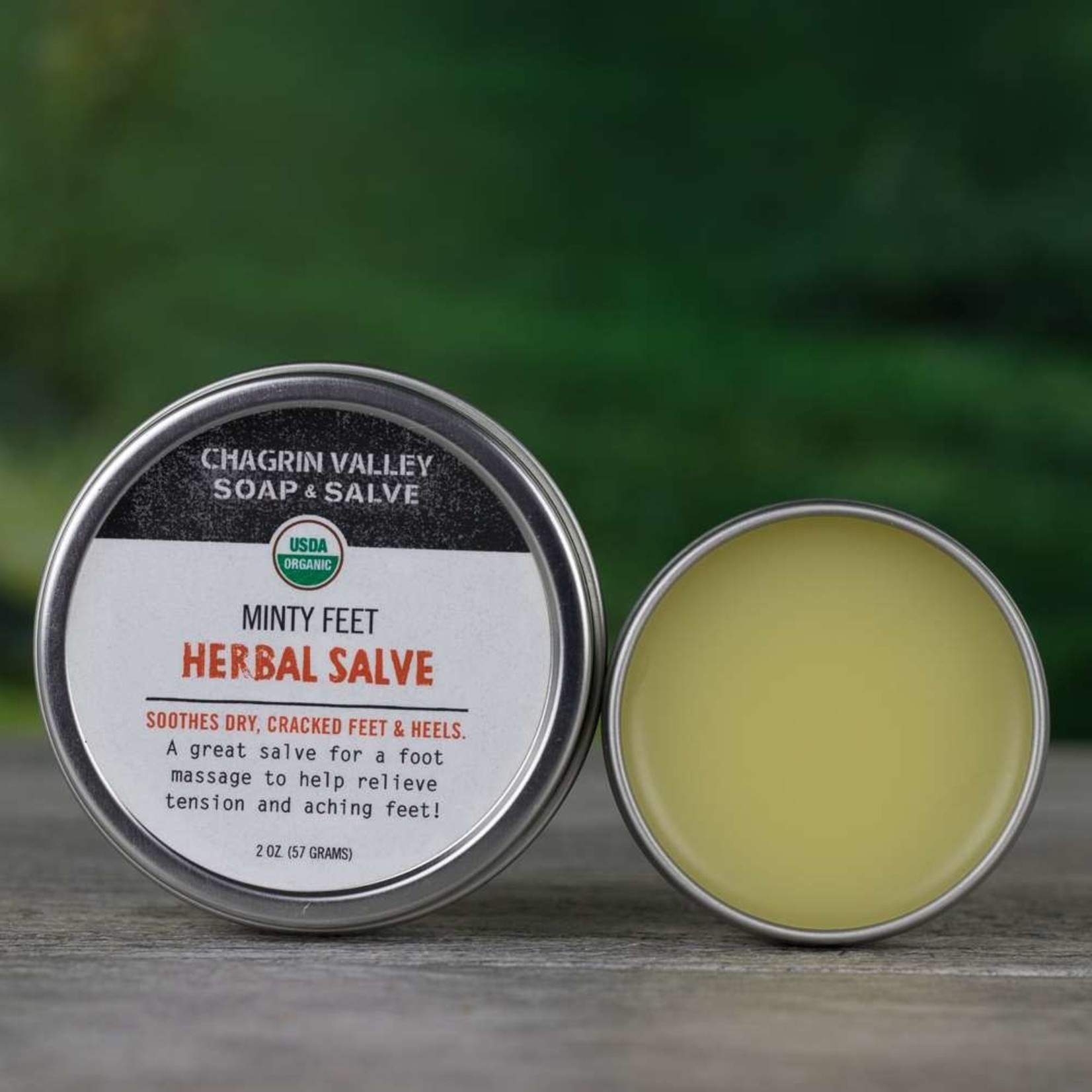 Chagrin Valley Soap and Salve Minty Feet Herbal Salve