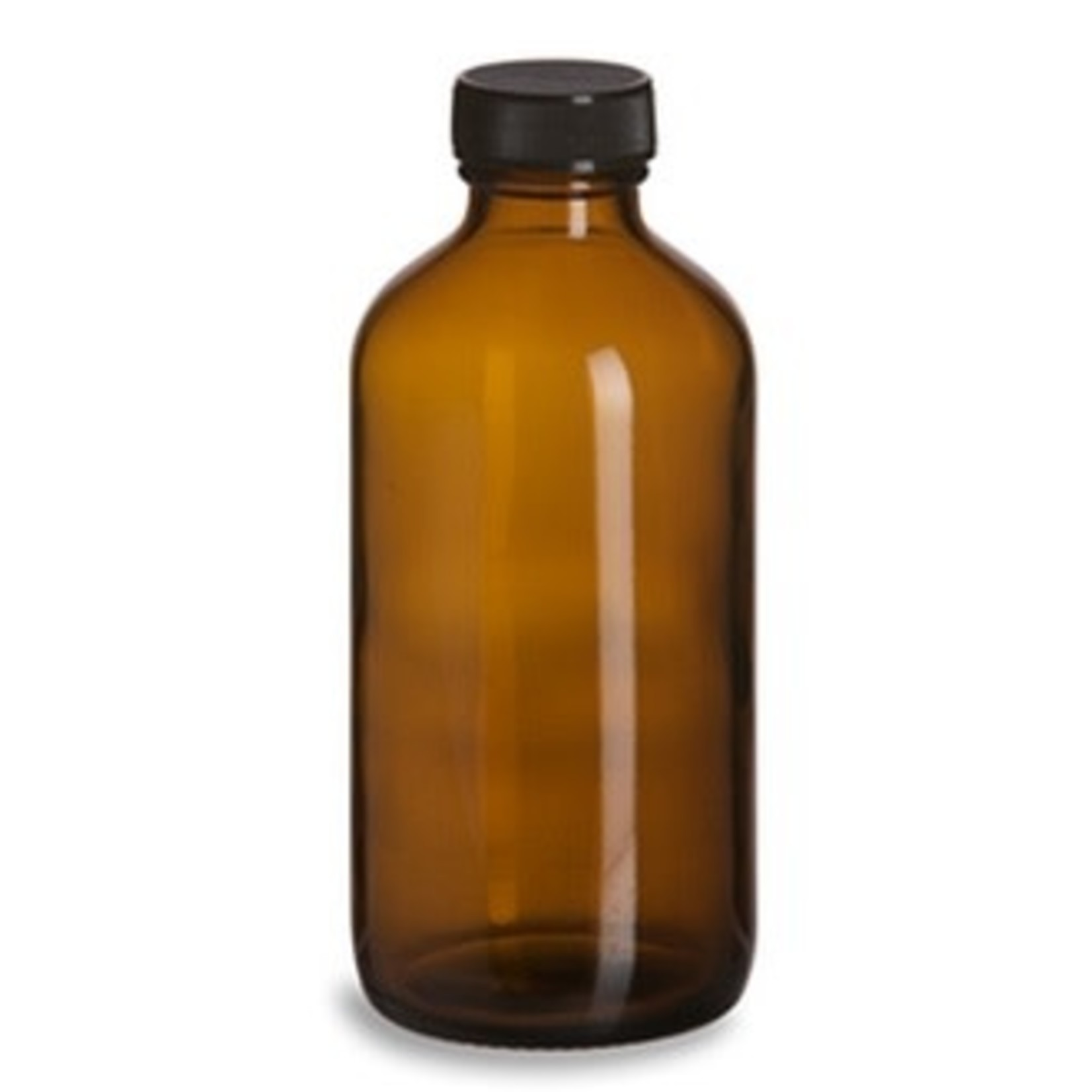 Amber Glass Container 8oz