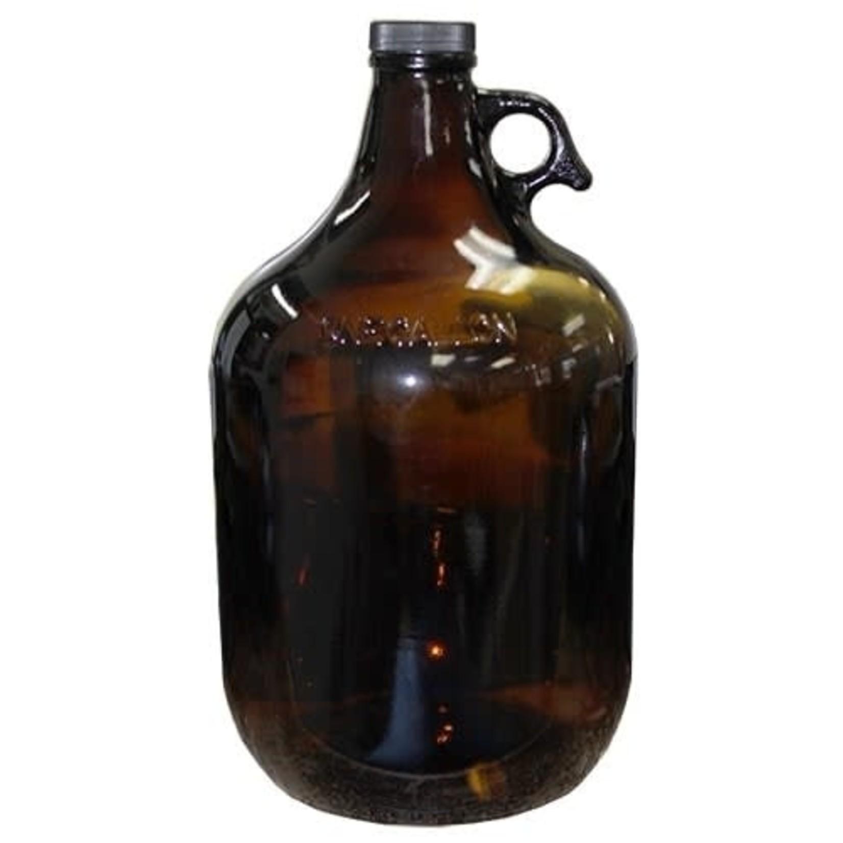 Amber Glass Jug 128oz / 1 Gallon