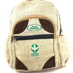 Hempy's Hemp Sustainable World Backpack