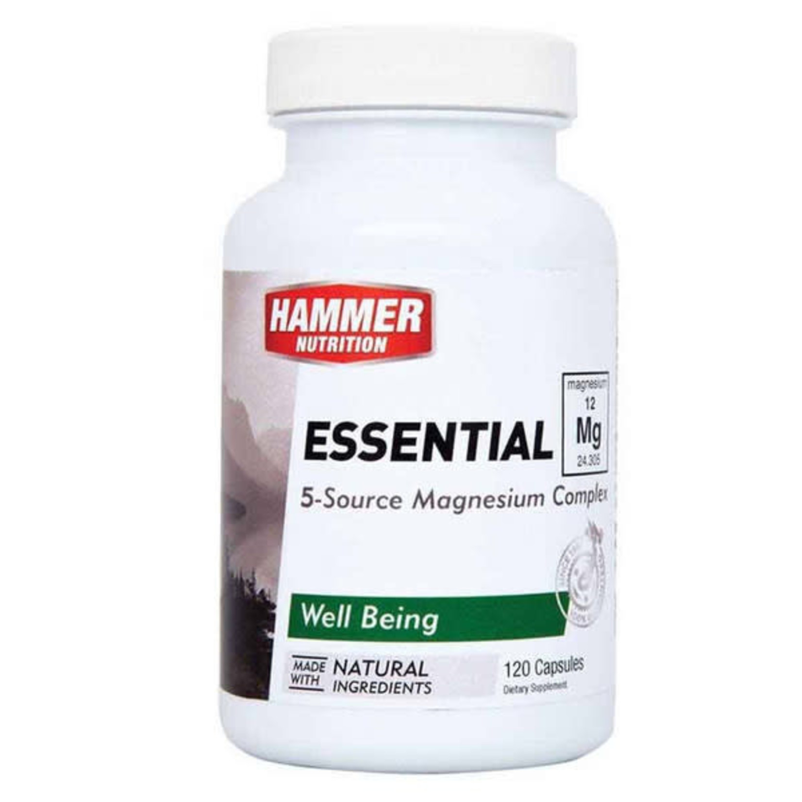 Hammer Nutrition Hammer 5 Source Magnesium Essential Mg 120ct Capsules