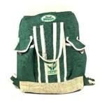 Hempy's Hemp Beach Bag Backpack Green