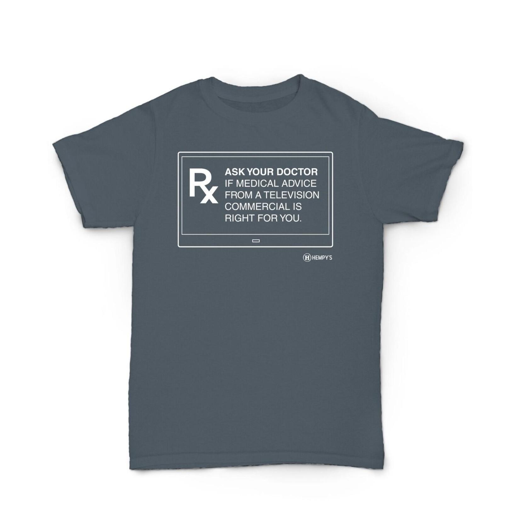 Hempy's Hemp T Shirt Ask Your Doctor