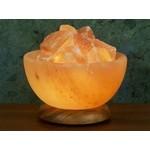 Aloha Bay Himalayan Crystal Salt Bowl Lamp