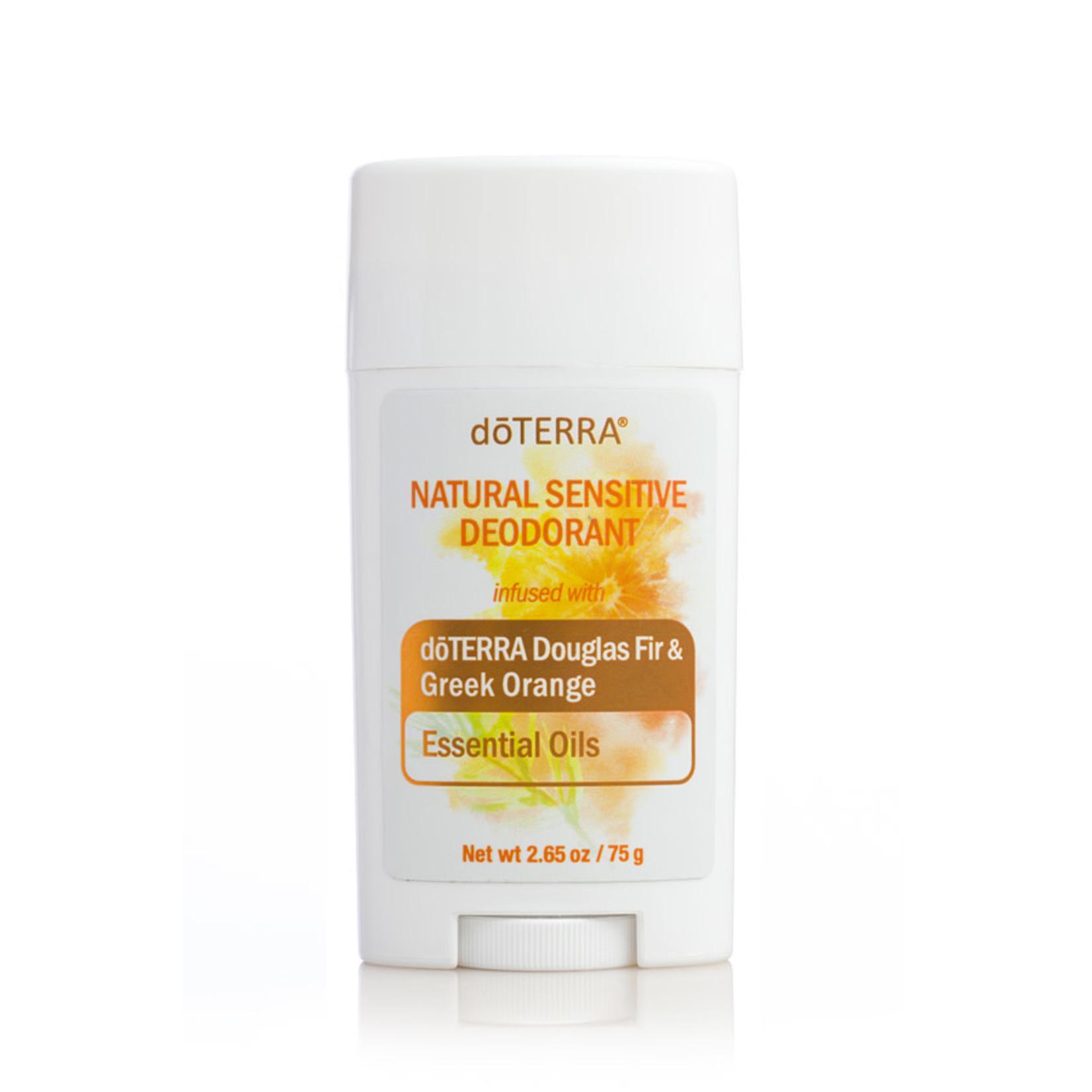 doTERRA doTerra Natural Sensitive Douglas Fir & Greek Orange Deodorant 2.65oz