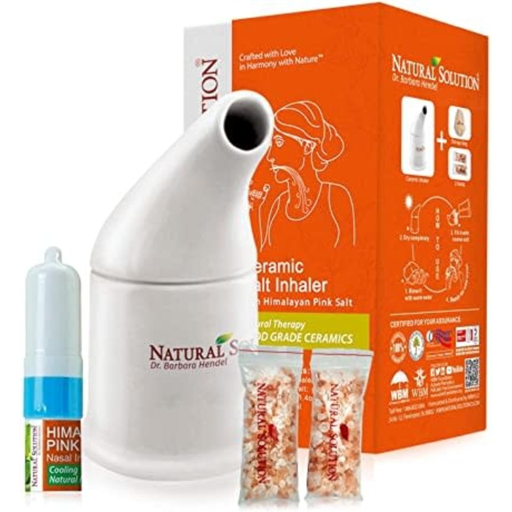 Ceramic Salt Inhaler