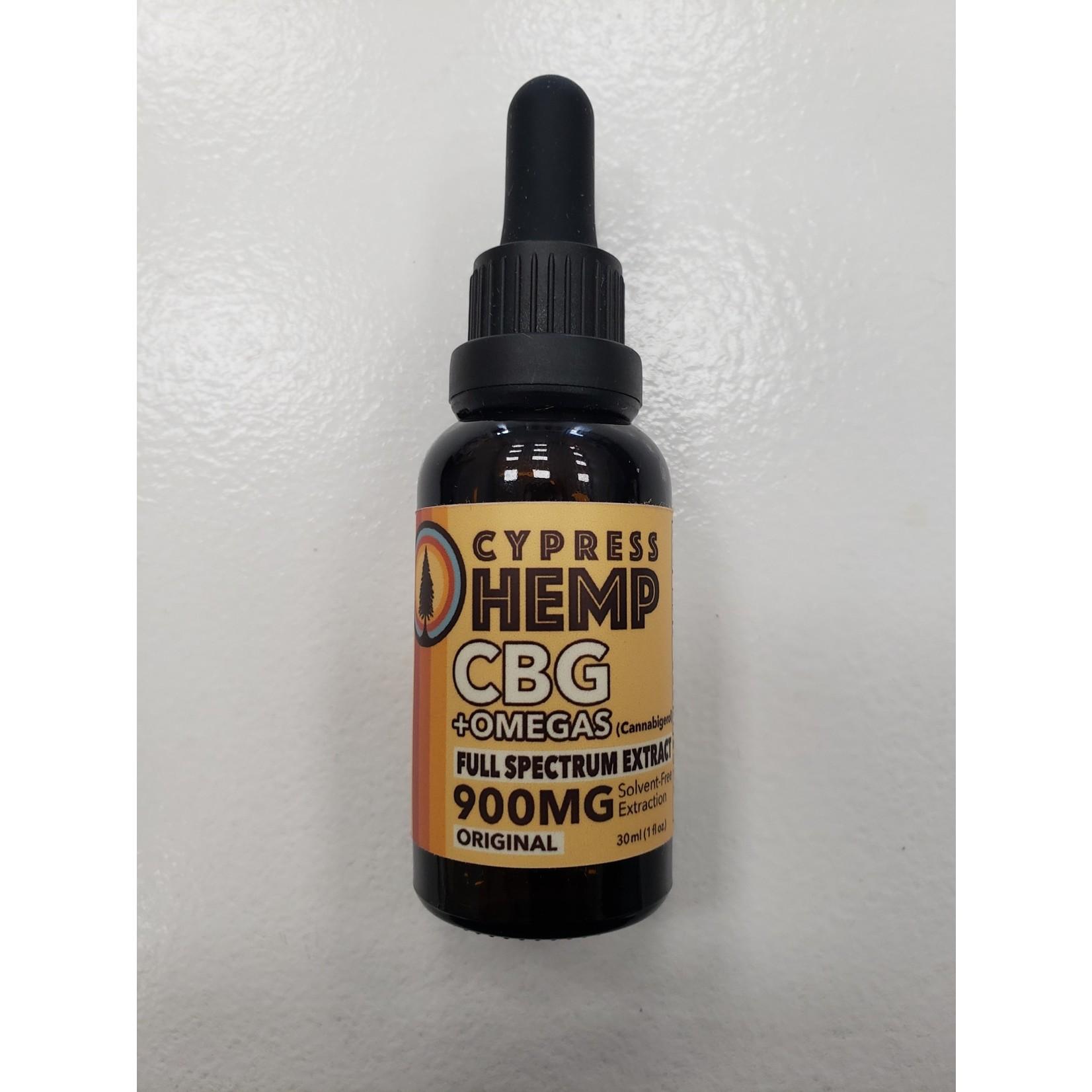 Cypress Hemp CBG + Omegas Full Spectrum