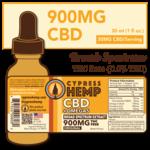 Cypress Hemp CBD + Omegas Broad Spectrum 900mg