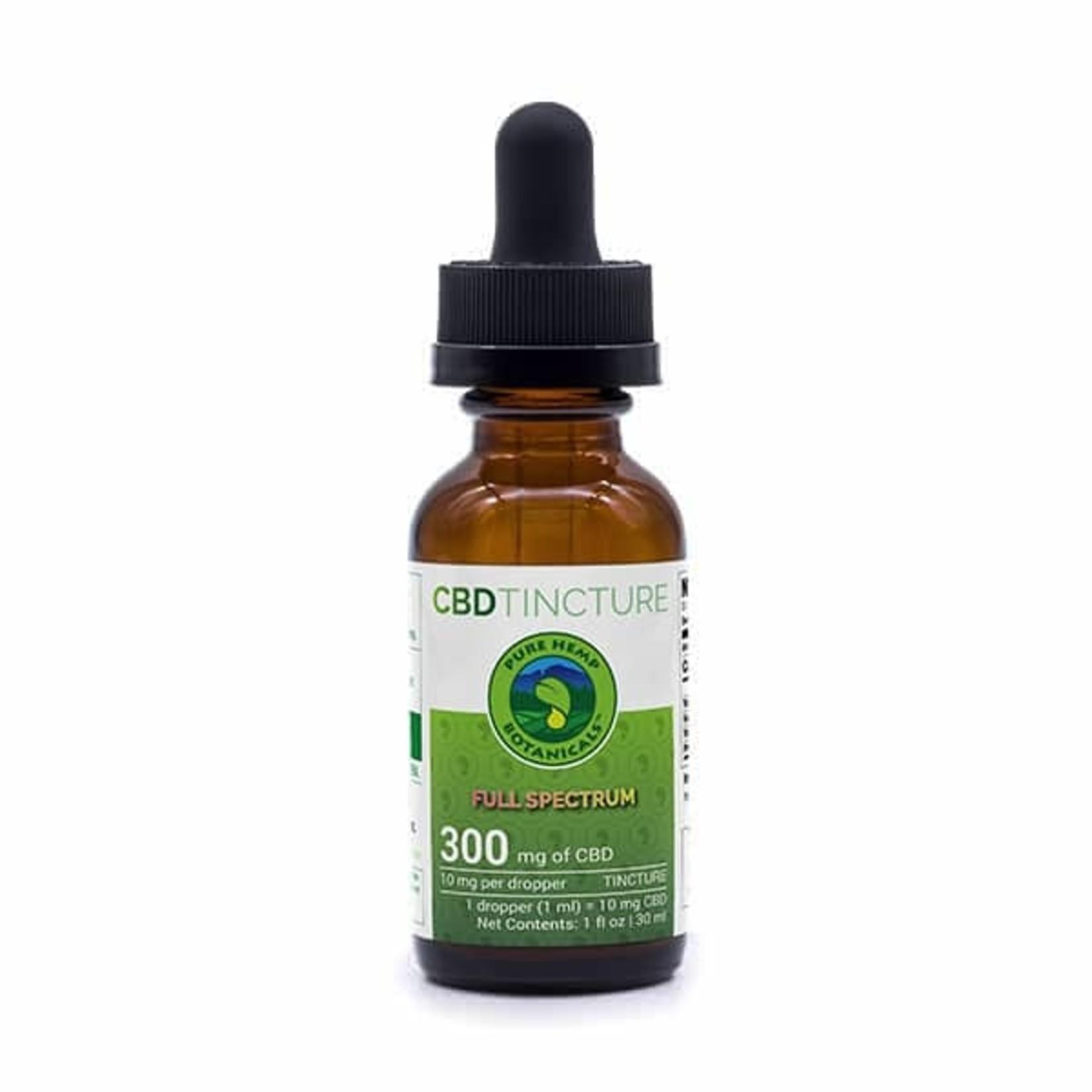 Pure Hemp Botanicals PHB Full Spectrum CBD Tincture Oil 300mg 30ml