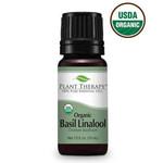 Plant Therapy PT Basil Linalool Organic Essential Oil 10ml