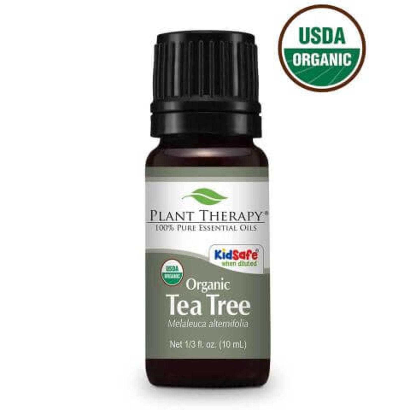 Plant Therapy PT Tea Tree Organic Essential Oil 10ml