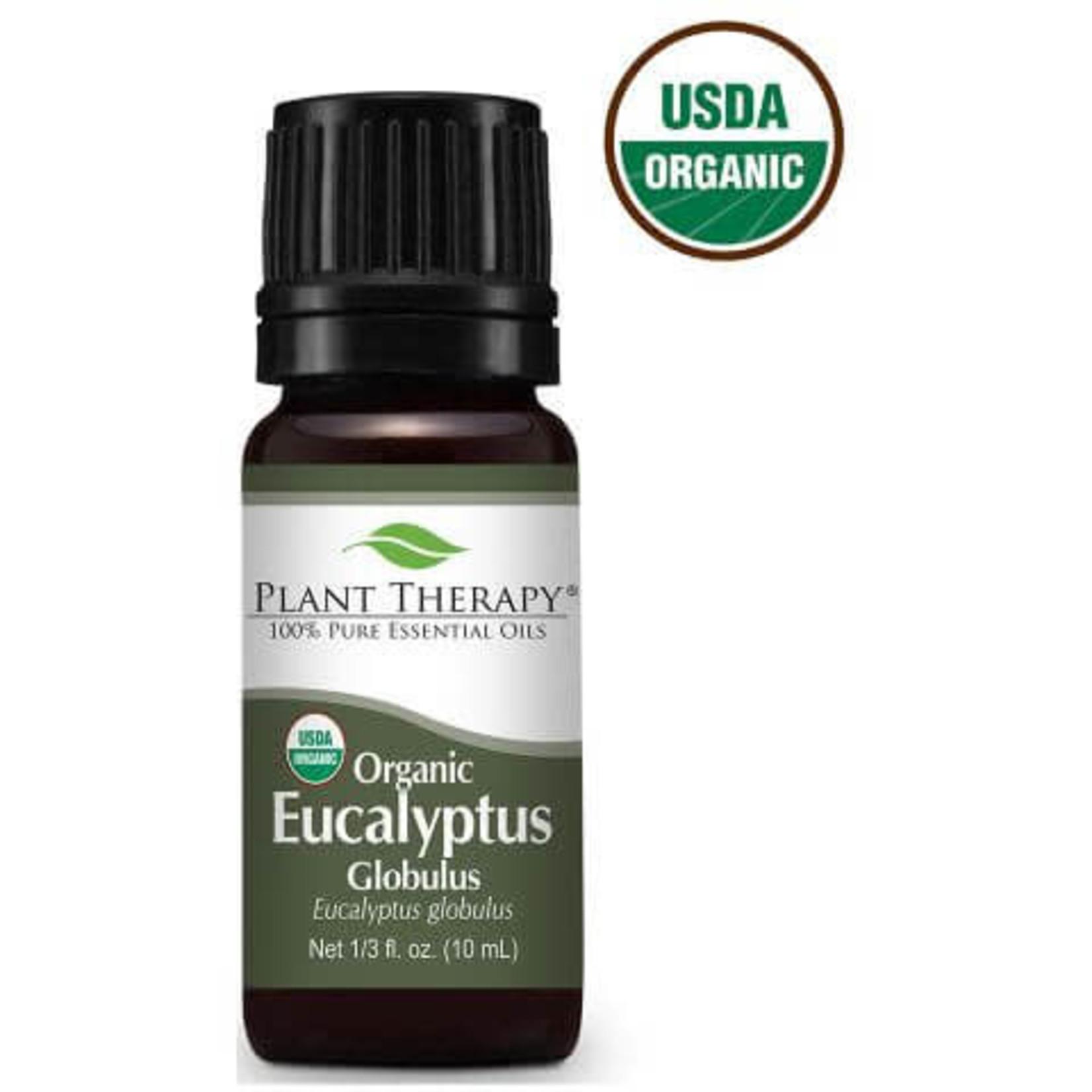 Plant Therapy PT Eucalyptus Globulus Organic Essential Oil 10ml