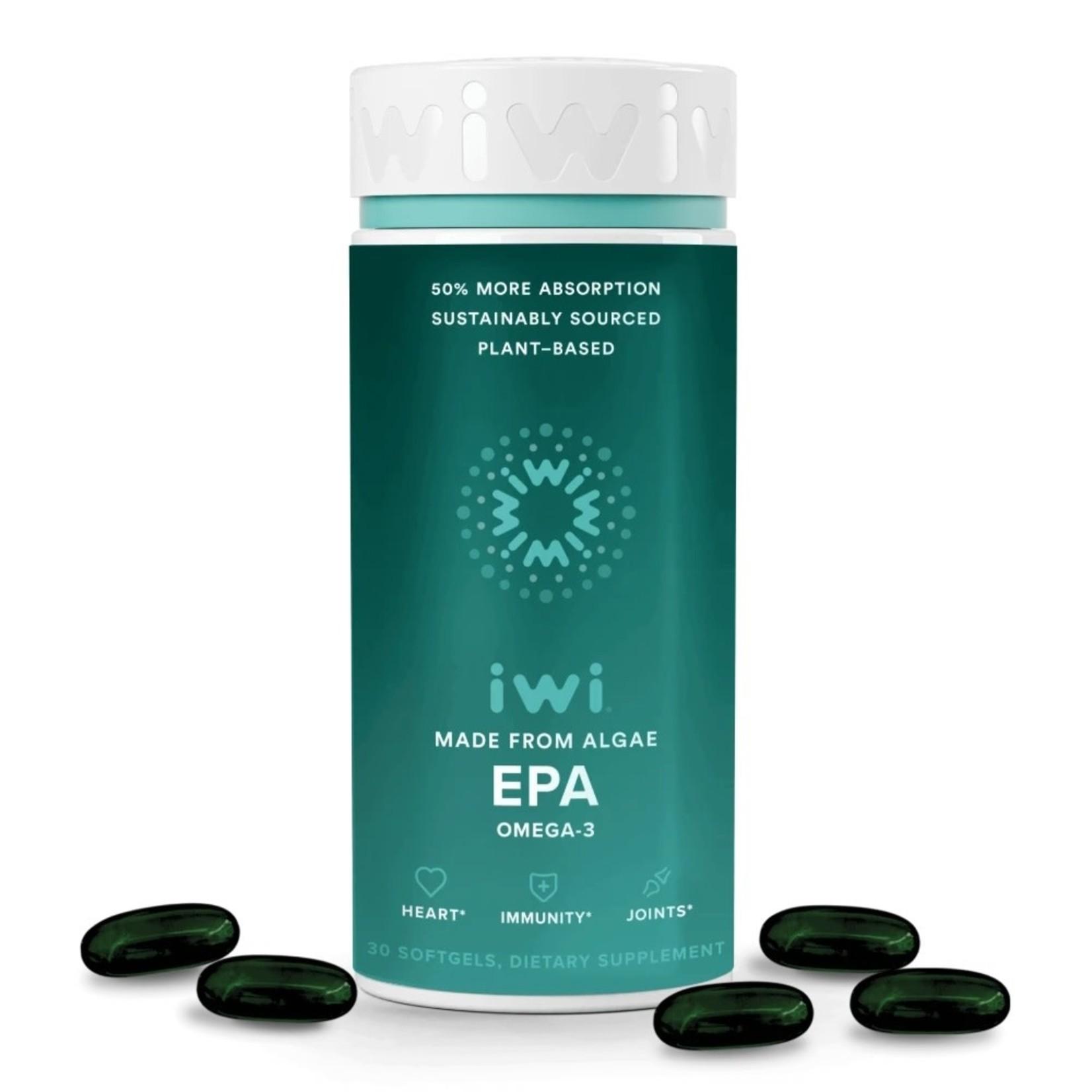 IWI Life IWI Omega 3 Algae EPA Softgels 30ct