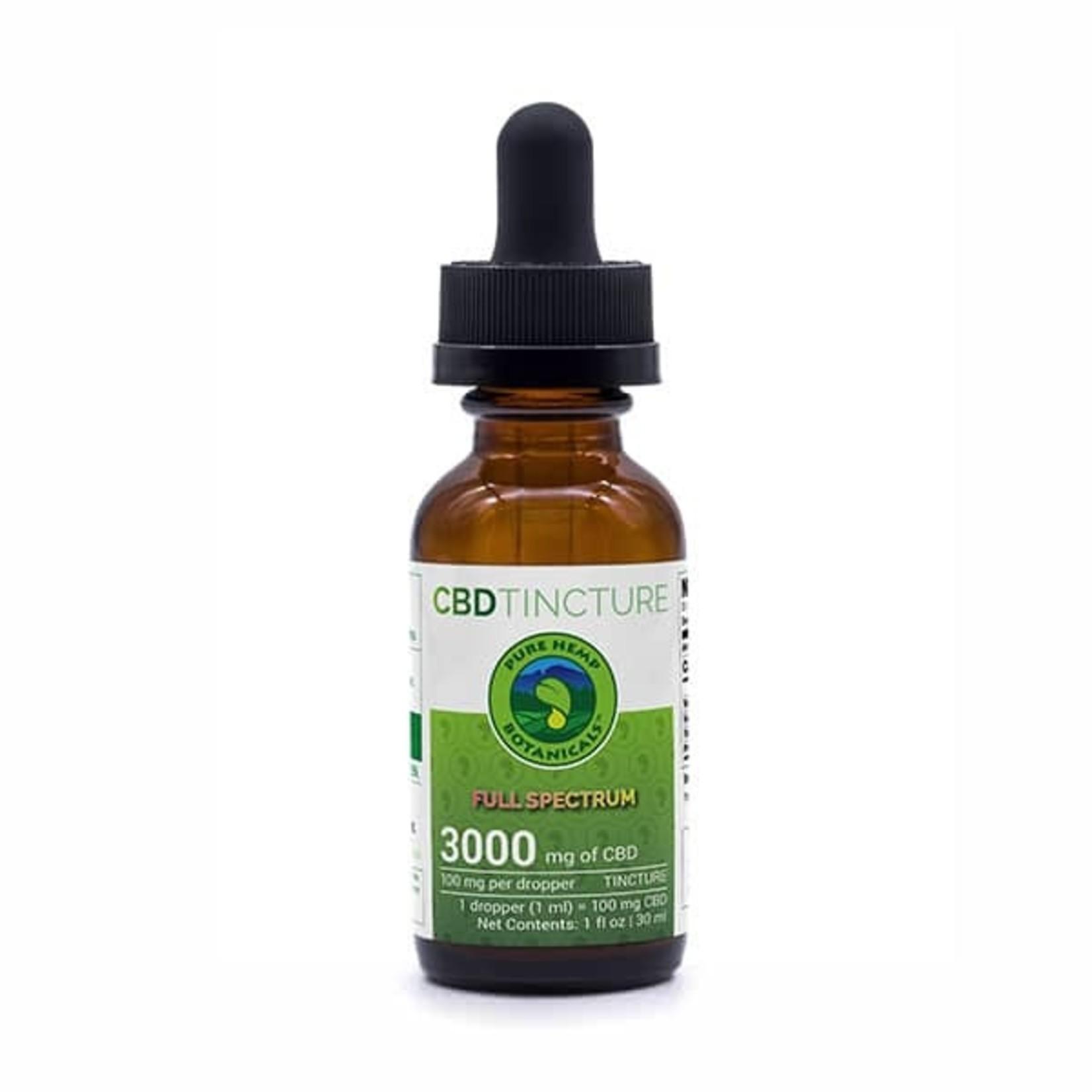 Pure Hemp Botanicals PHB Full Spectrum CBD Tincture Oil 3000mg 30ml