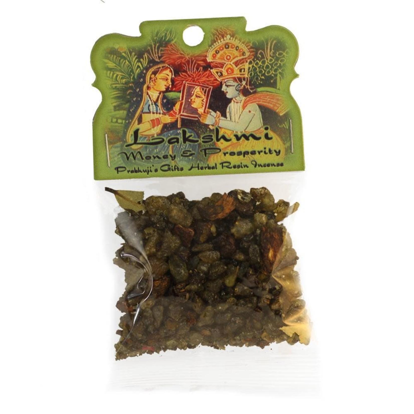 Prabhujis Gifts Lakshmi - Money and Prosperity Resin Incense