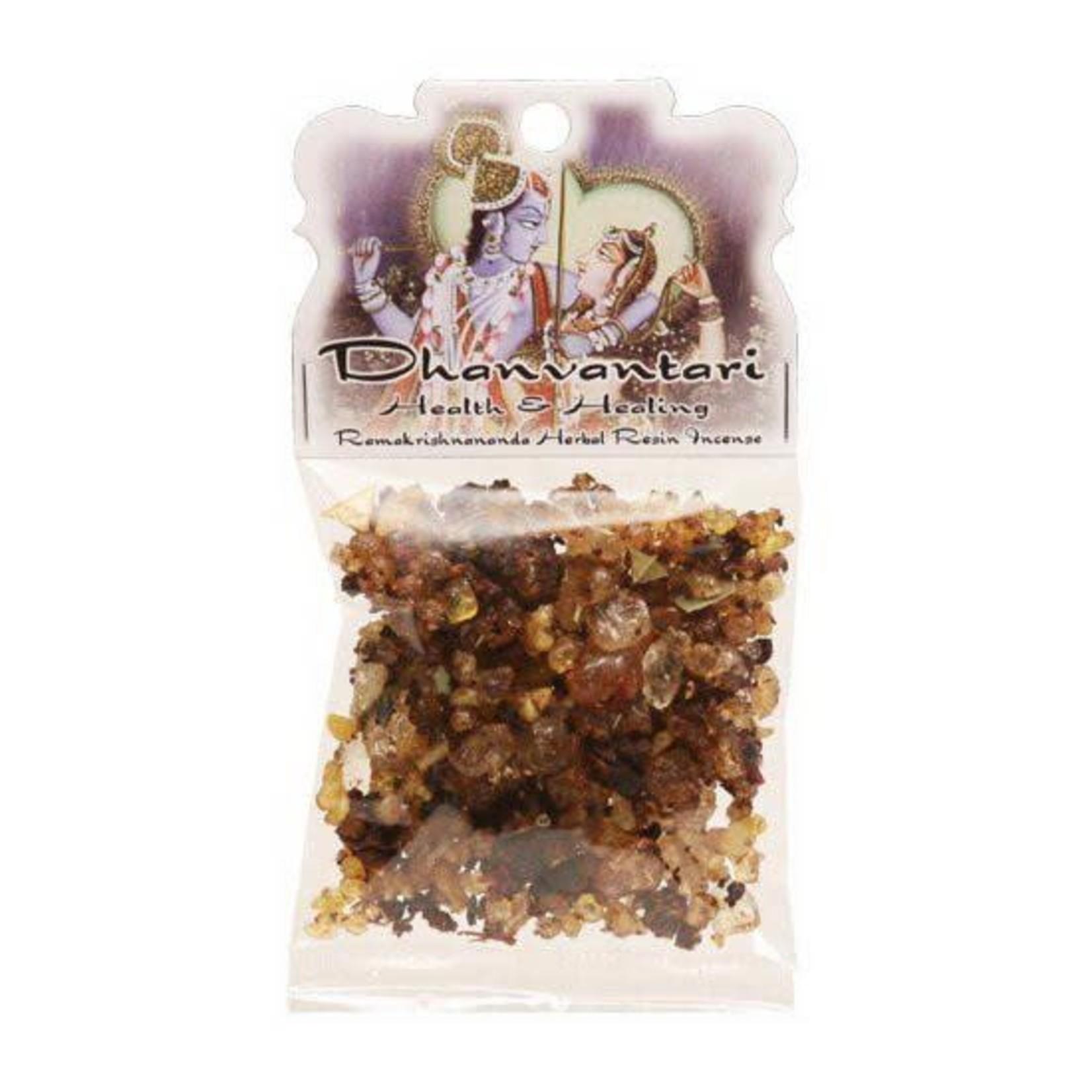 Prabhujis Gifts Dhanvantari - Health and Healing Resin Incense