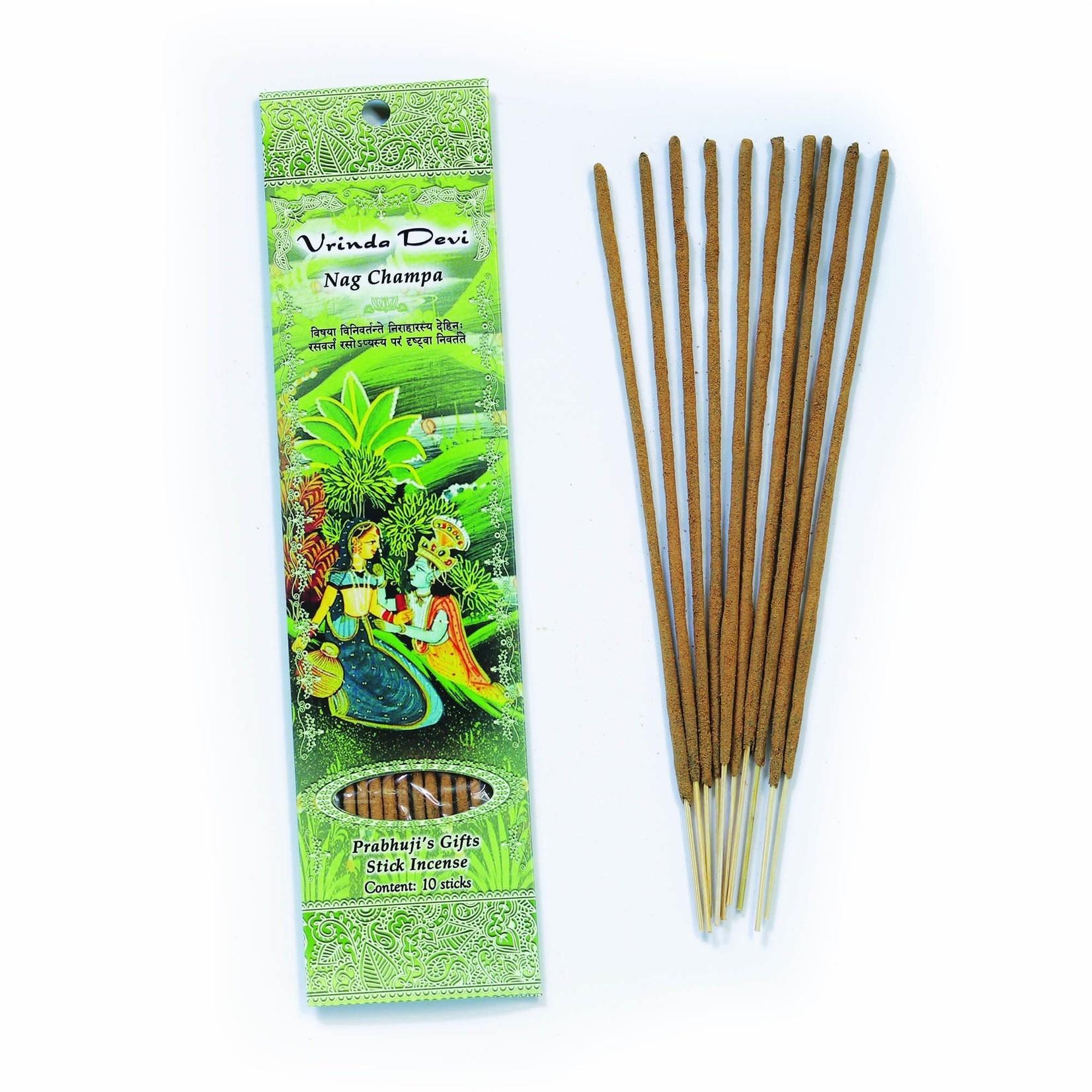 Prabhujis Gifts Vrinda Devi - Nag Champa Incense Stick