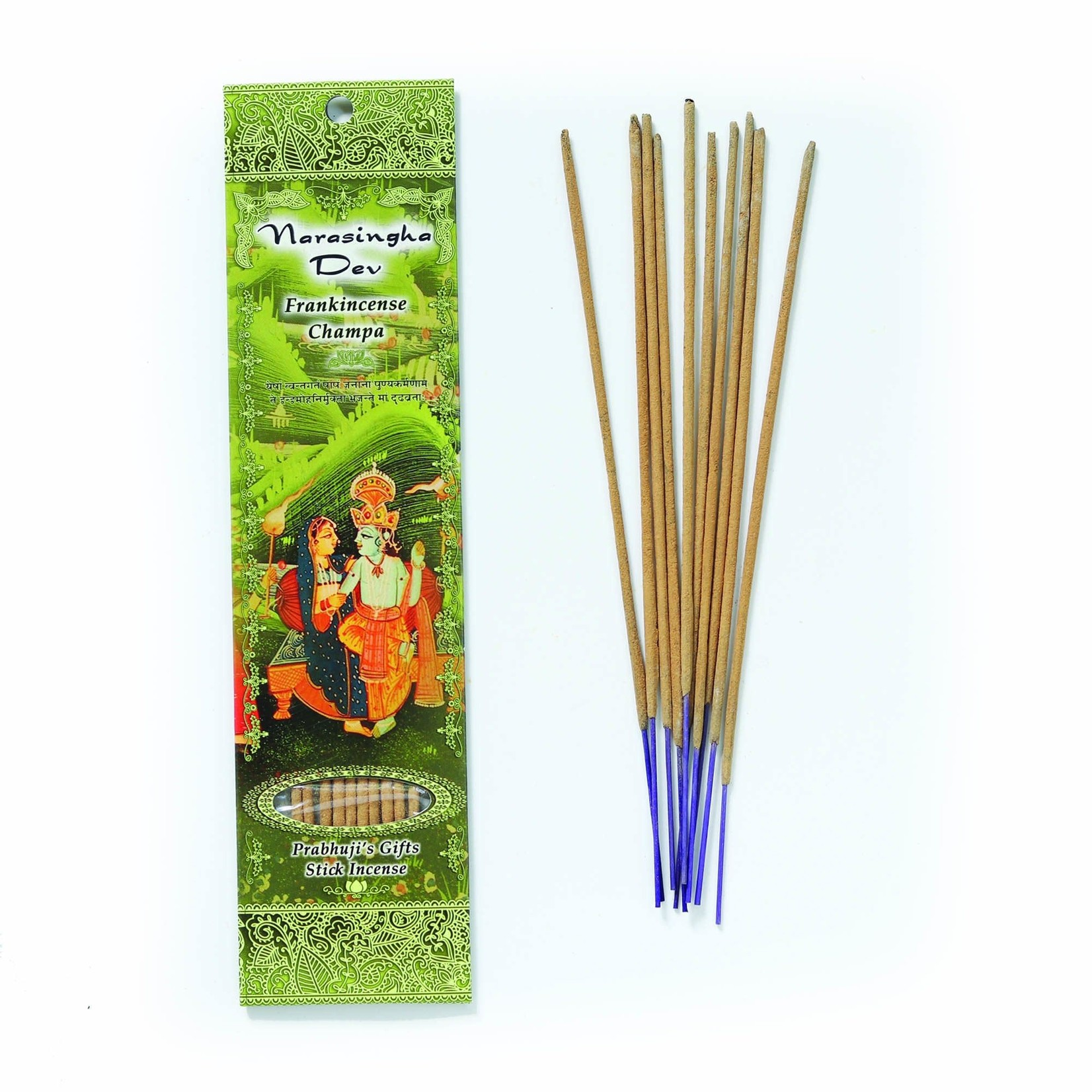 Prabhujis Gifts Narasingha Dev - Frankincense Champa Incense Sticks