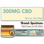 Cypress Hemp Cypress Broad Spectrum Omegas 300mg Salve 2oz
