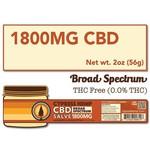 Cypress Hemp Cypress Broad Spectrum Omegas 1800mg Salve 2oz