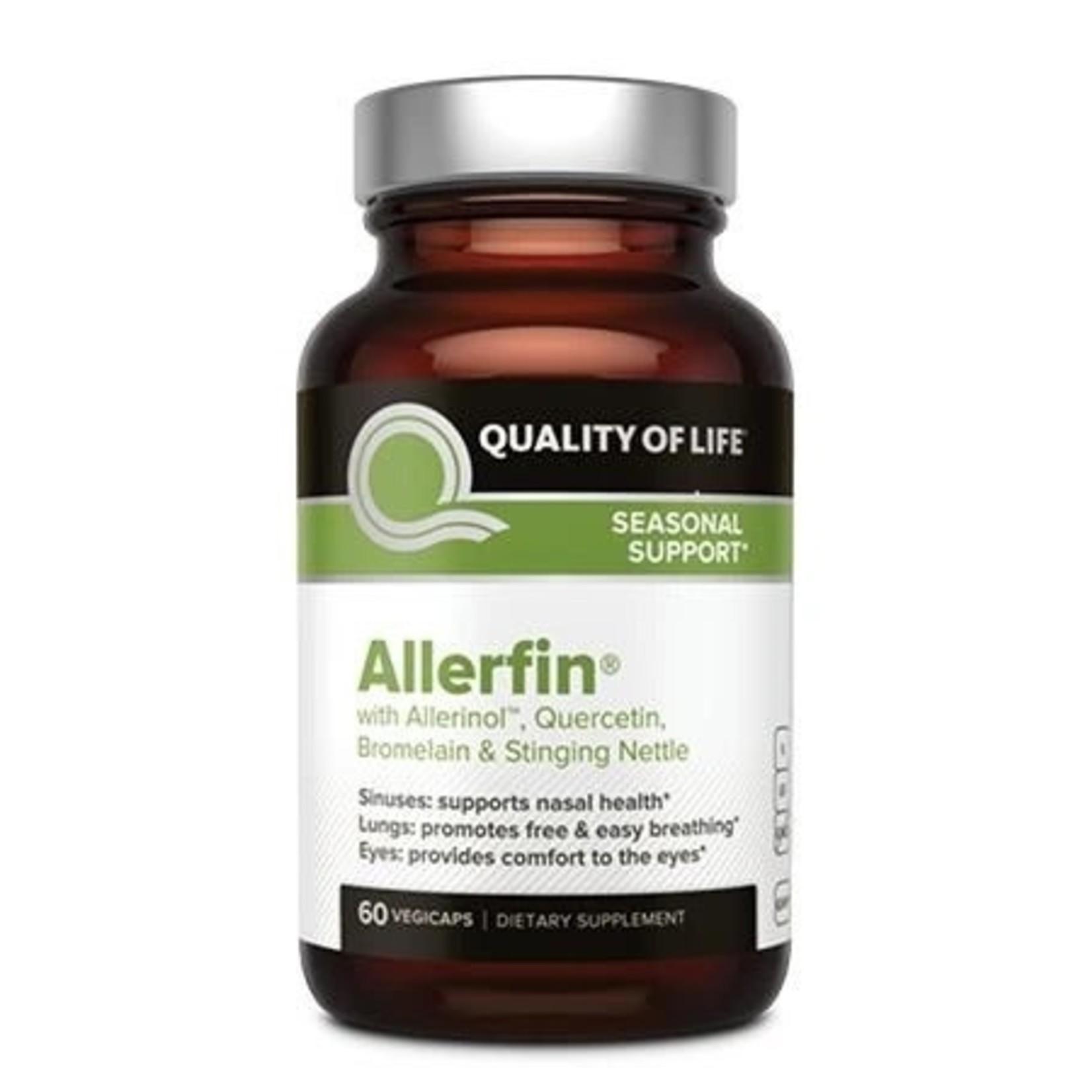 Quality of Life QOL Allerfin 60 vegicaps