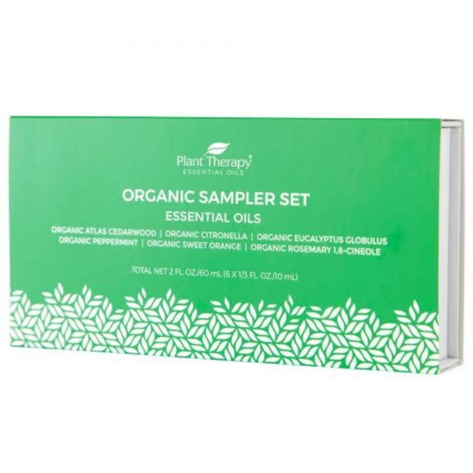 Plant Therapy PT Organic Sampler Set Essential Oils