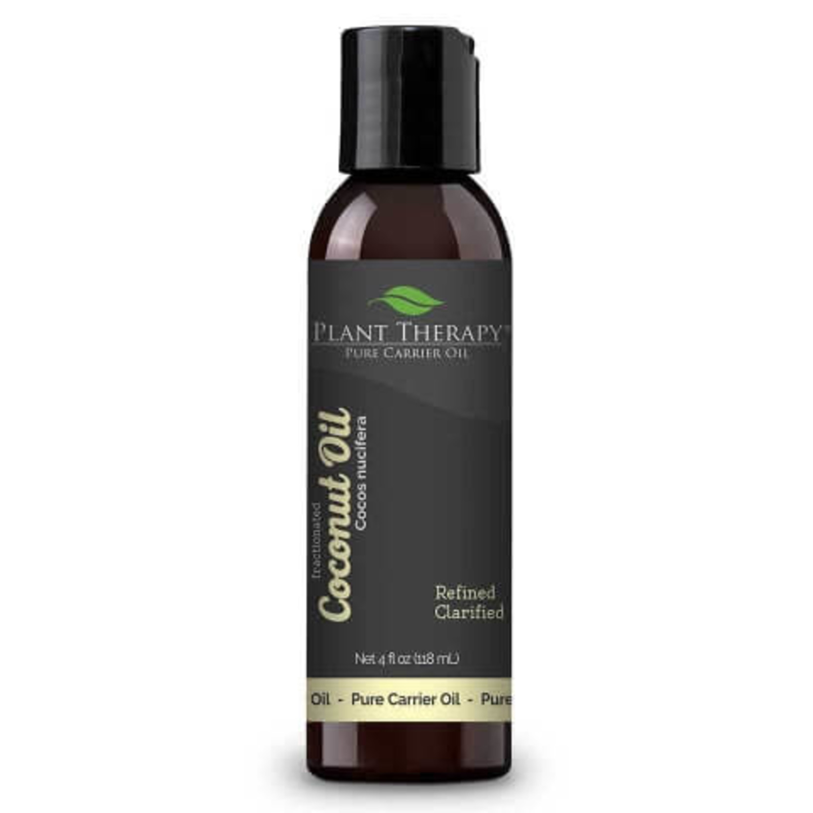Plant Therapy Fractionated Coconut Carrier Oil 4oz Bottle