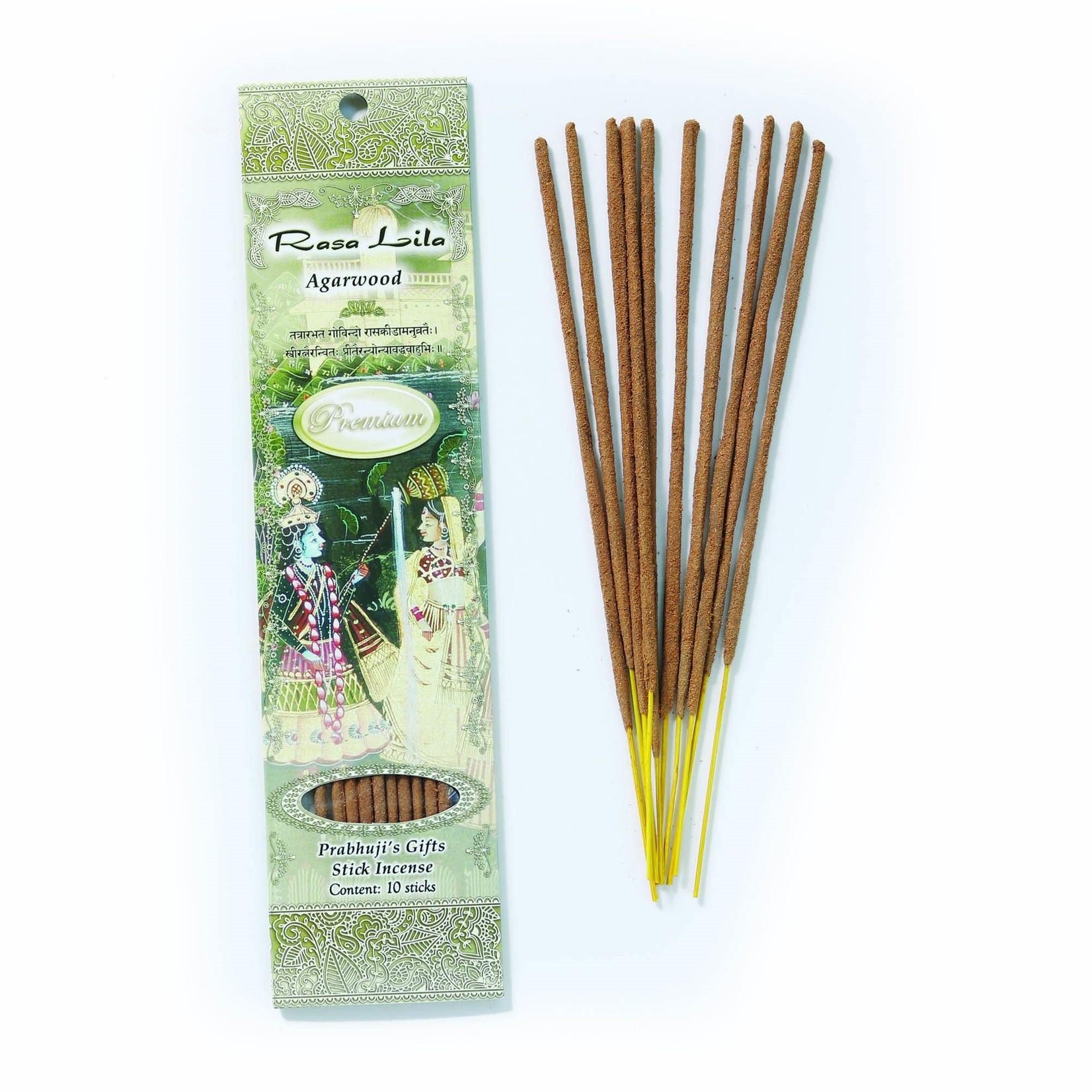 Prabhujis Gifts Rasa Lila - Premium Incense Sticks