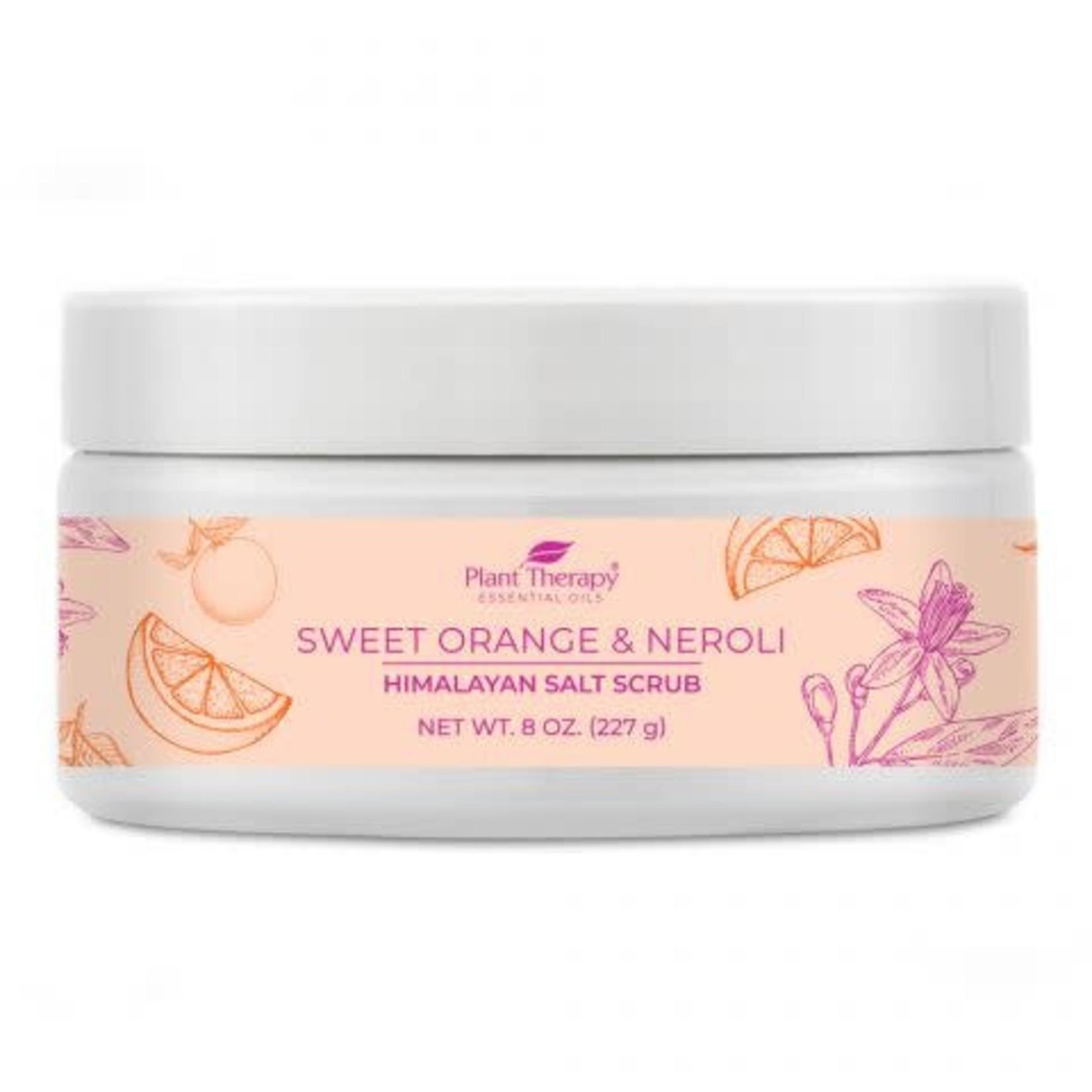 Plant Therapy PT Sweet Orange & Neroli Himalayan Salt Scrub 8oz