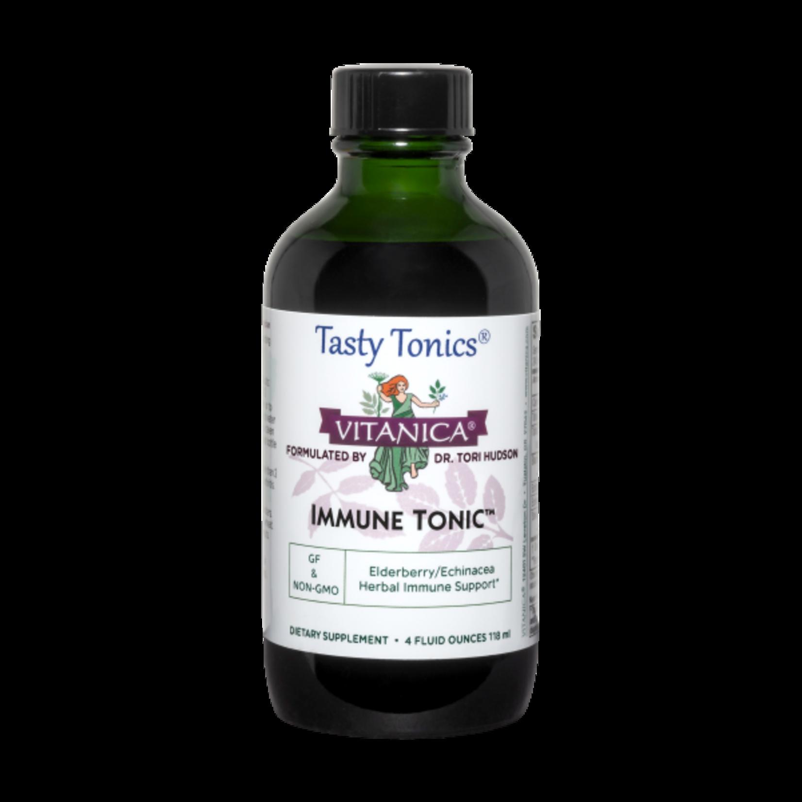 Vitanica Immune Tonic 4oz Elderberry / Echinacea