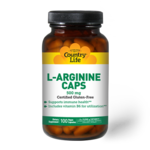 Country Life Country Life L-Arginine 500mg w/B6 100ct