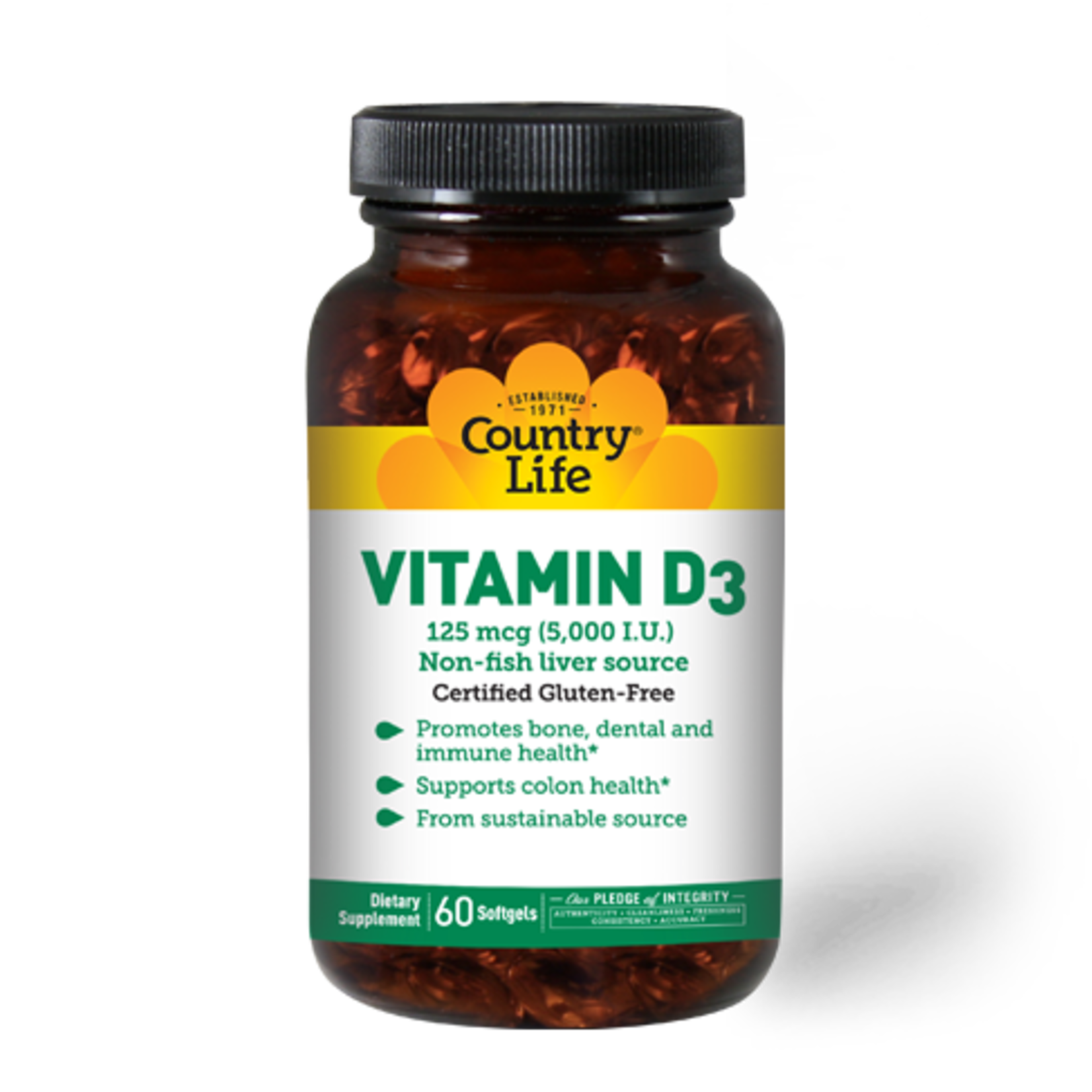 Country Life Country Life Vitamin D3 200 softgels