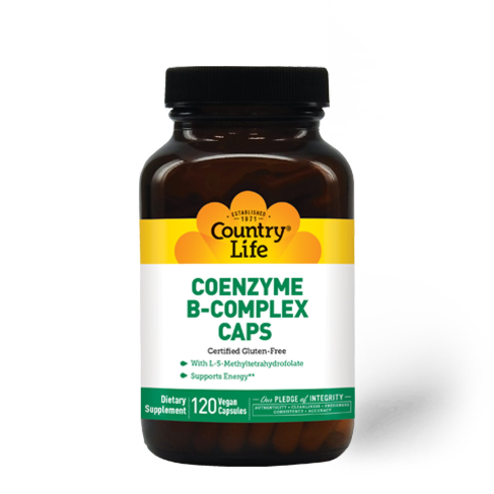 Country Life Country Life Coenzyme B-Complex Caps