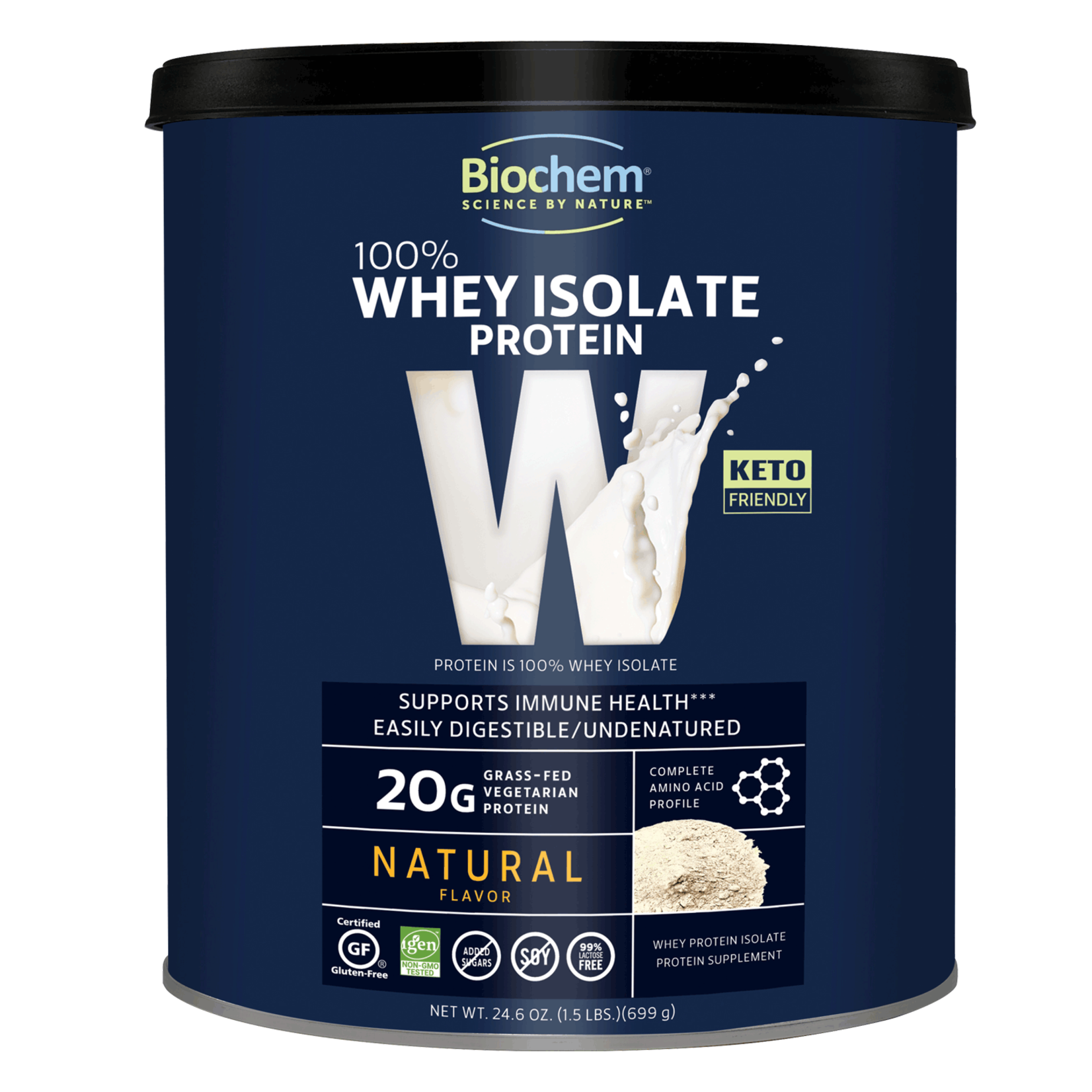 BioChem BioChem Whey Isolate Protein Natural Flavor