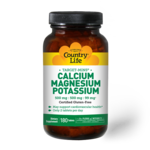 Country Life Country Life Calcium Magnesium Potassium 180ct