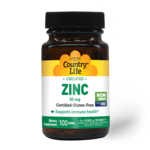 Country Life Country Life Chelated Zinc 50mg 100 tablets