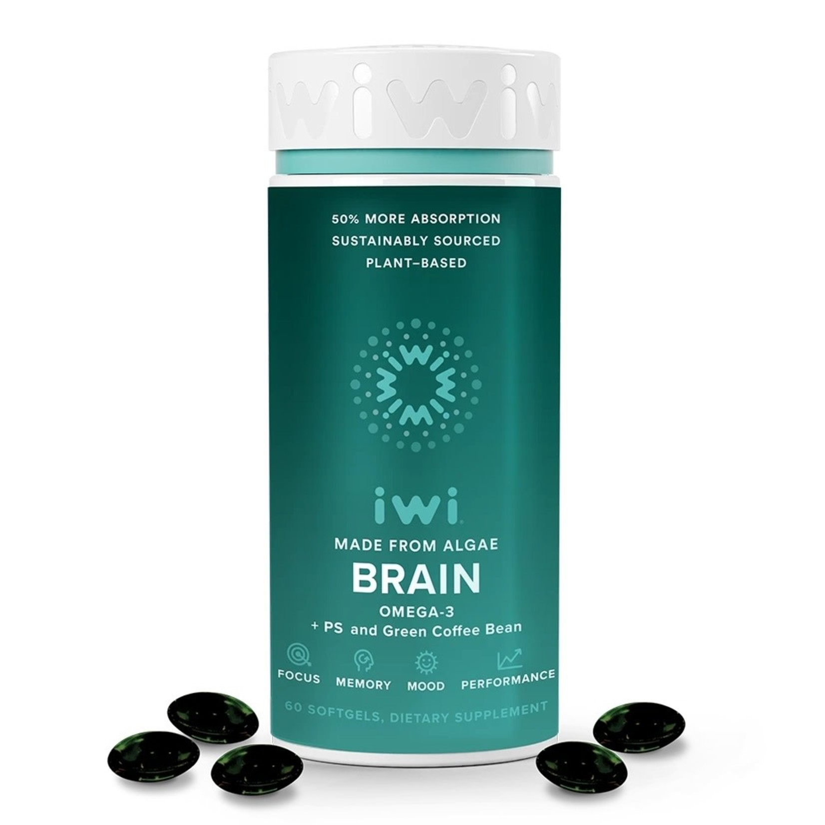 IWI Life IWI Brain Health 60 Softgels