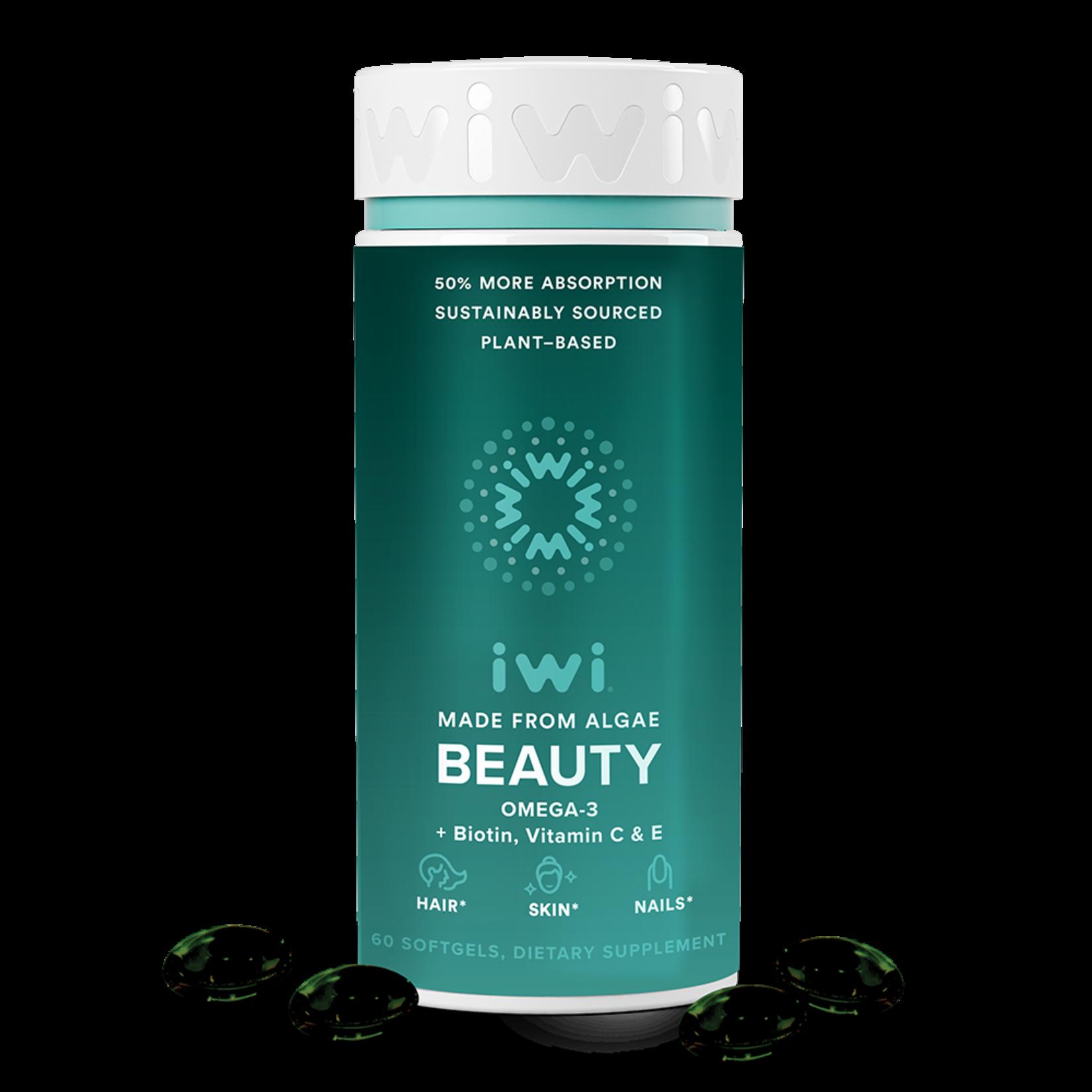 IWI Life IWI Beauty - Hair Skin Nails - 60 Softgels