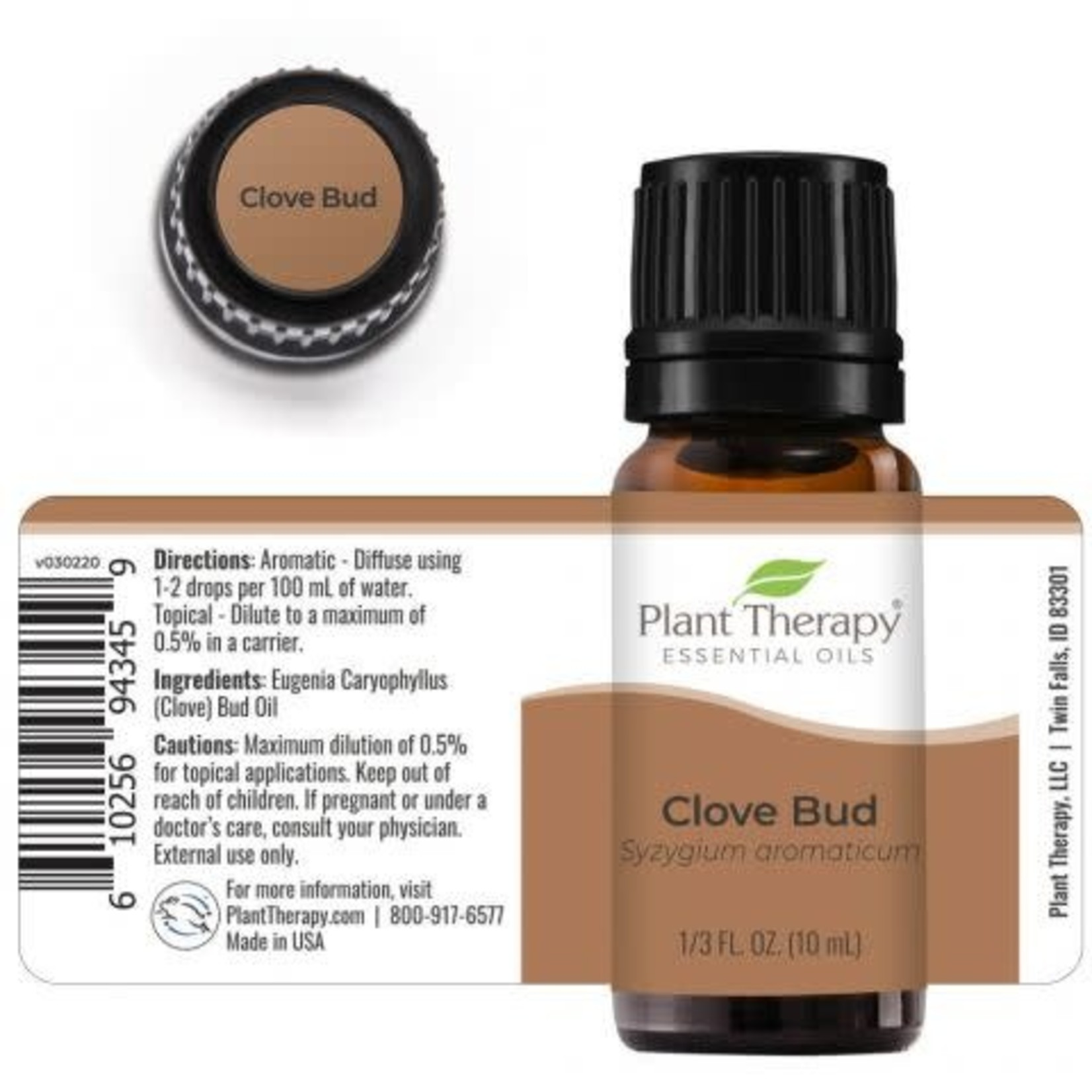 Plant Therapy PT Clove Bud Essential Oil 10ml