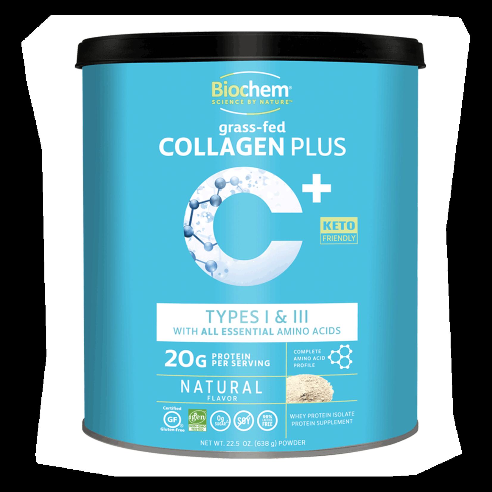 BioChem Biochem Grass Fed Collagen Plus 22.5oz