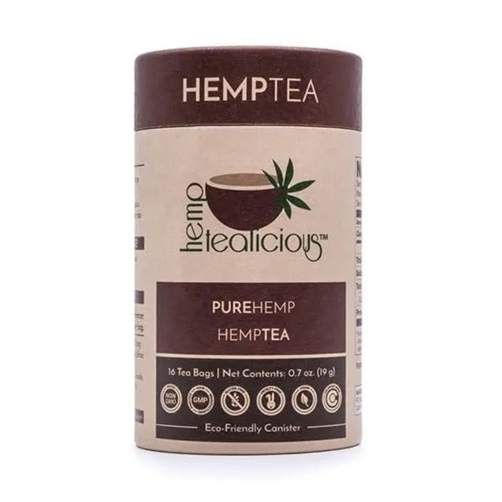 Pure Hemp Botanicals PHB Pure Hemp Tea Bags 16