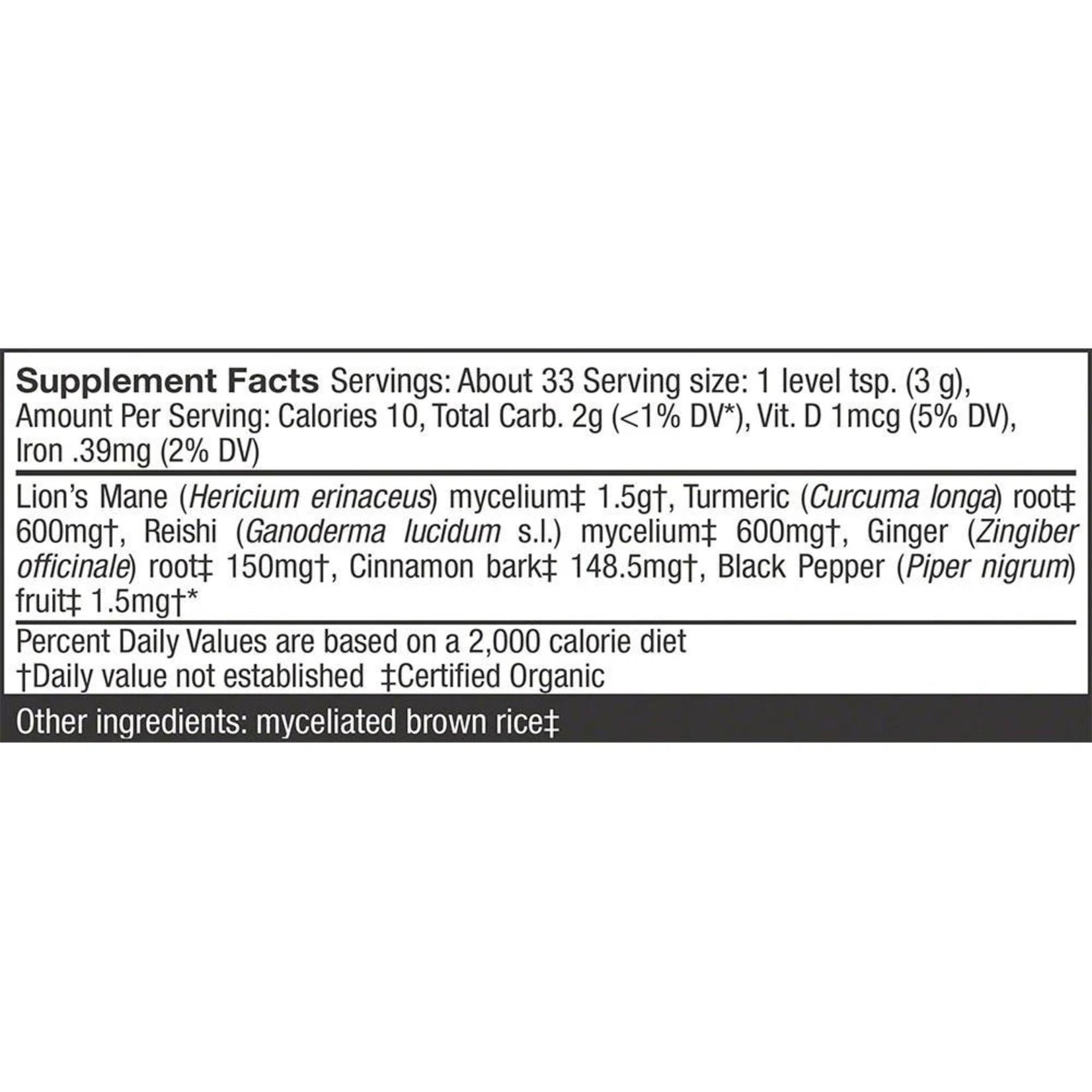Host Defense HD MycoBotanicals Brain & Body Powder 100 grams