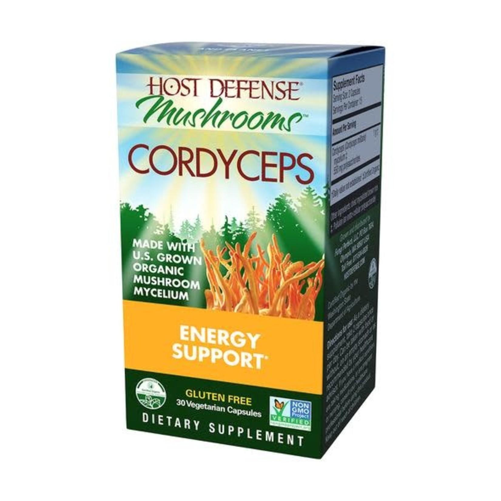 Host Defense HD Cordyceps Mushroom Capsules