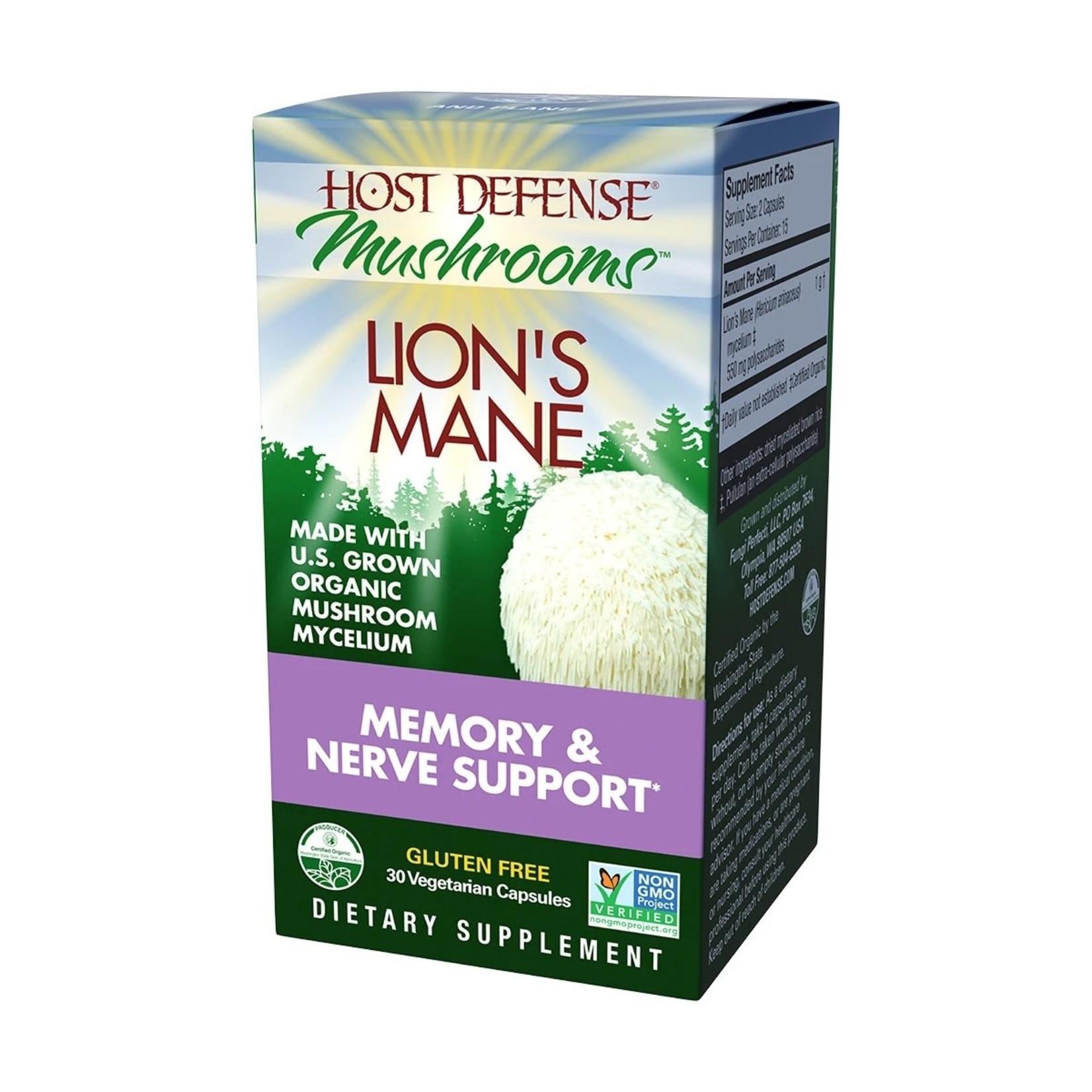 Host Defense HD Lion's Mane Capsules