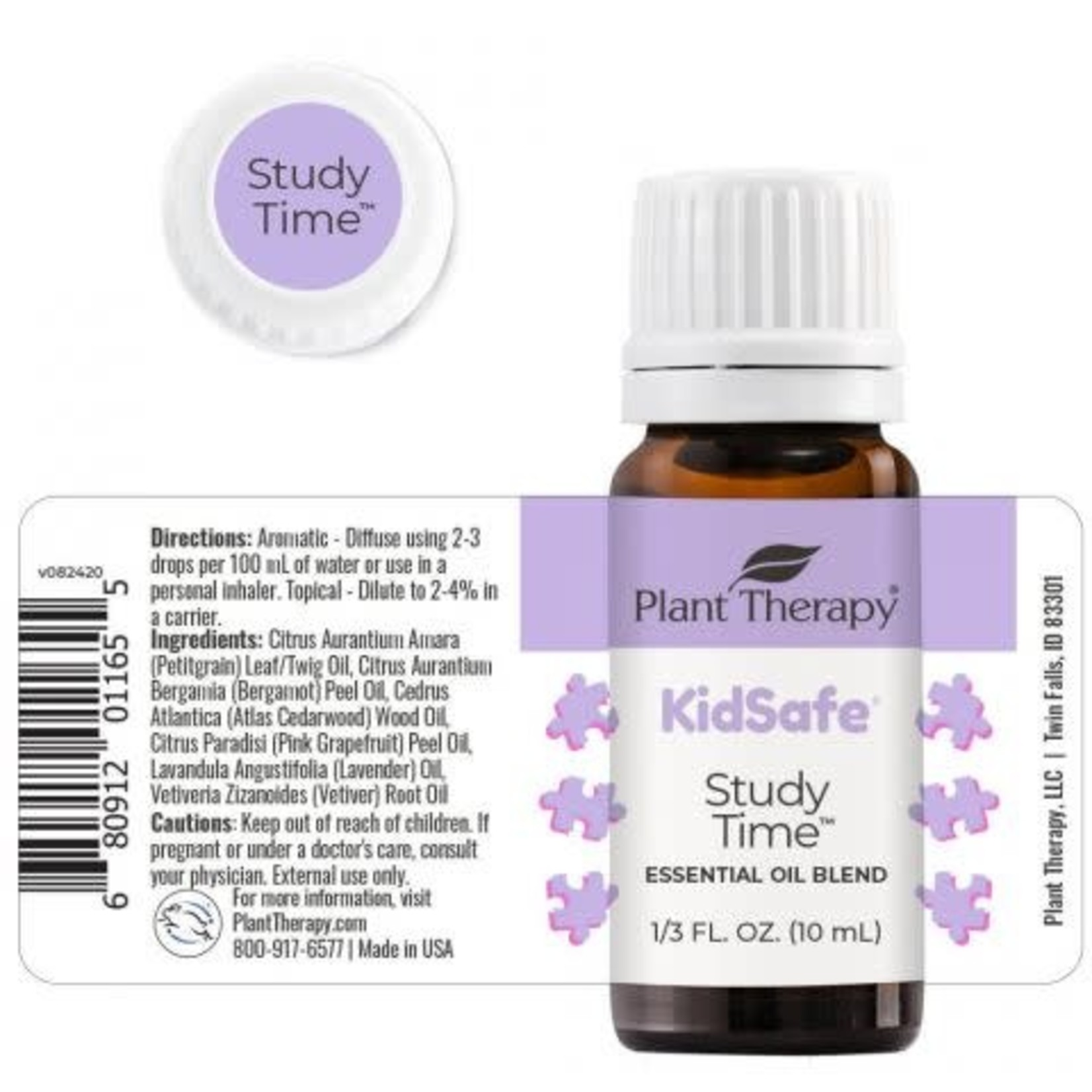 Plant Therapy PT Study Time Essential Oil 10ml