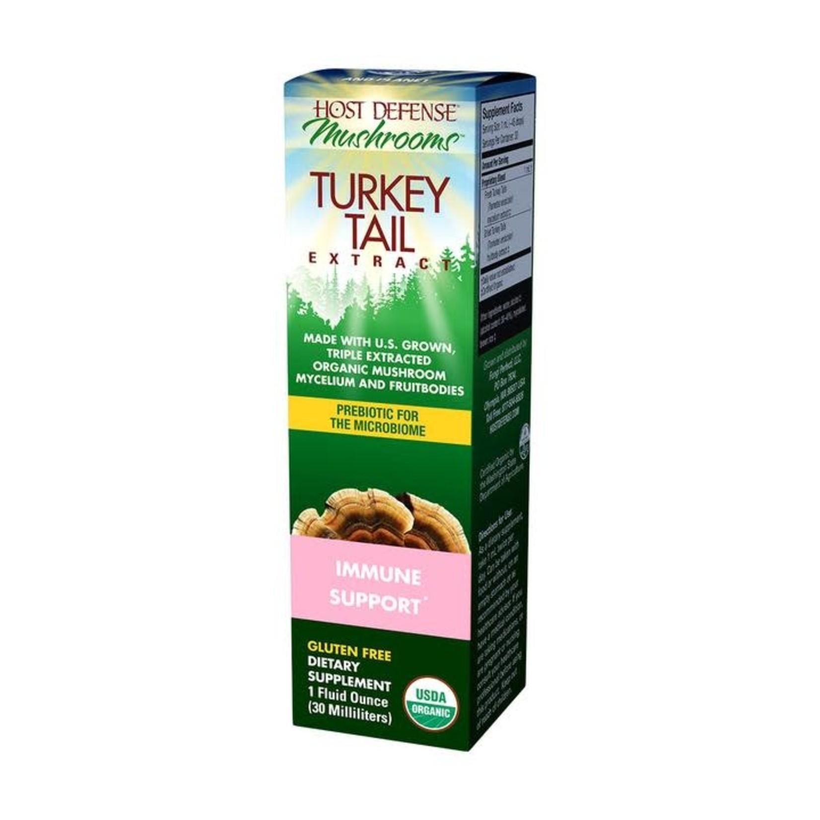 Host Defense HD Turkey Tail Mushroom Extract