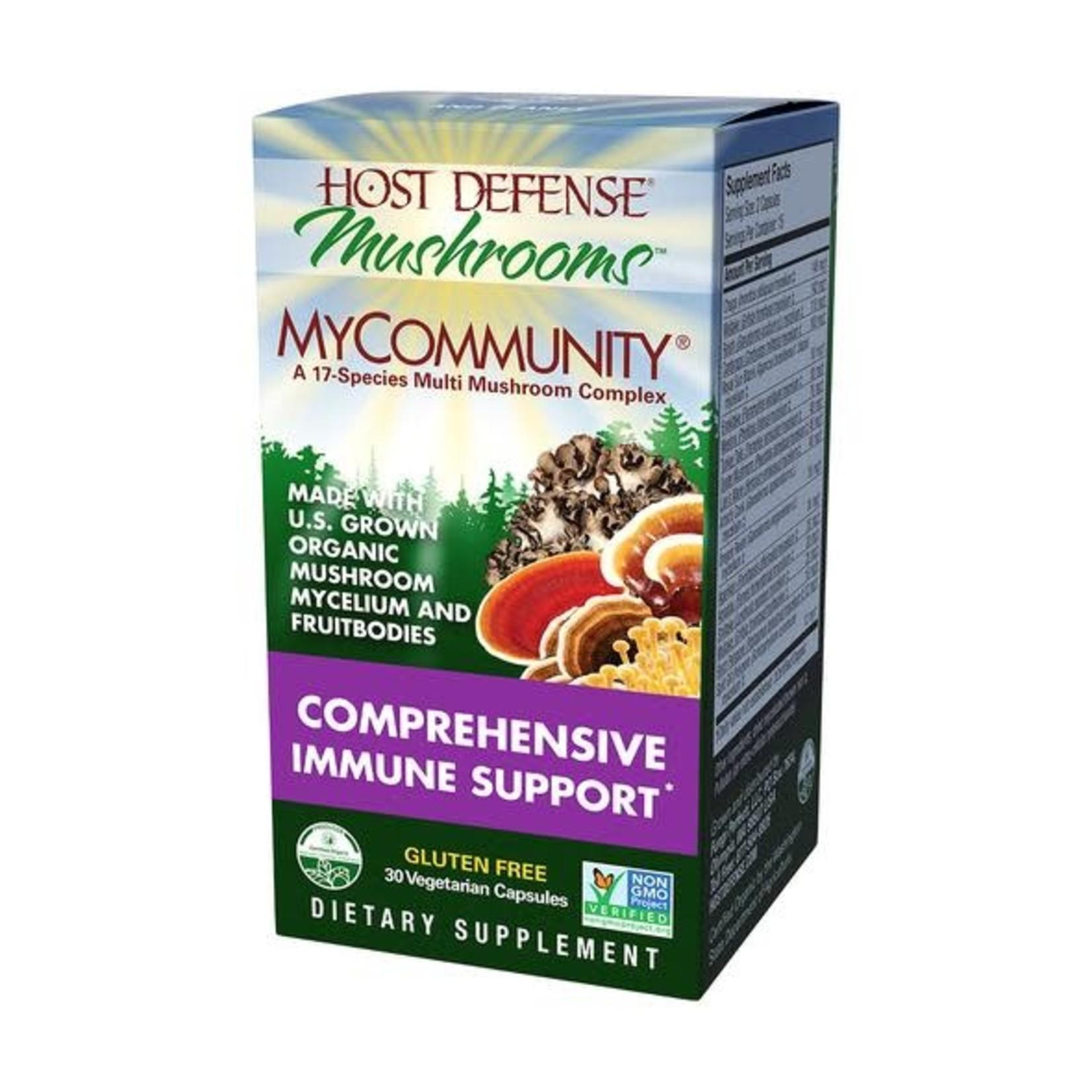 Host Defense HD My Community Mushroom Capsules