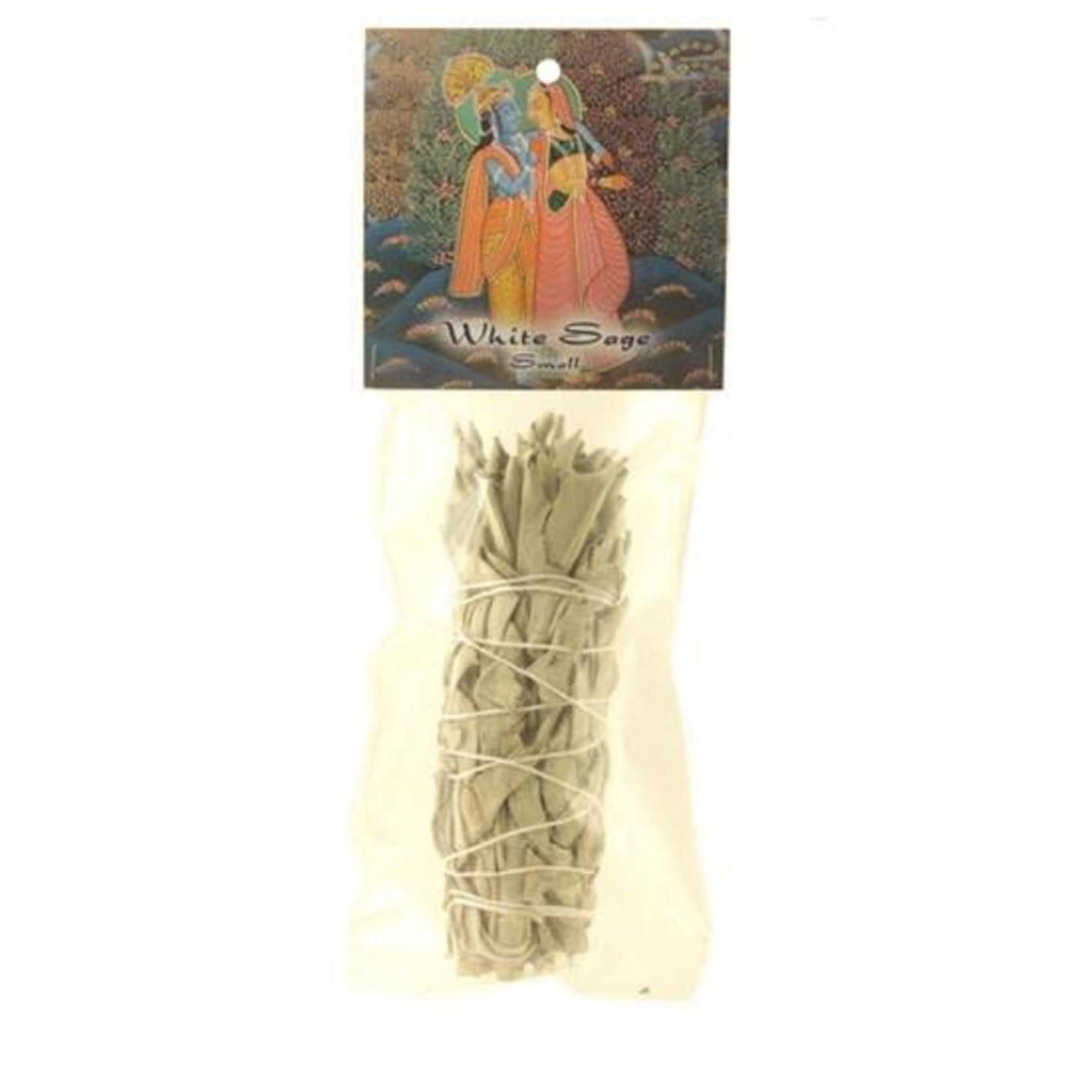 Prabhujis Gifts White Sage Smudge Stick - Small Bundle