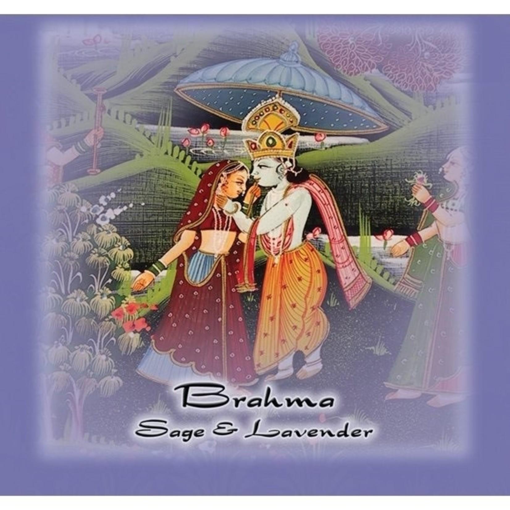 Prabhujis Gifts Desert Sage and Lavender Stick - Brahma Bundle