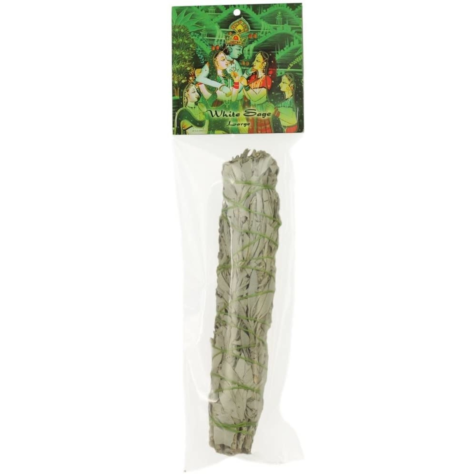 Prabhujis Gifts White Sage Smudge Stick - Large Bundle